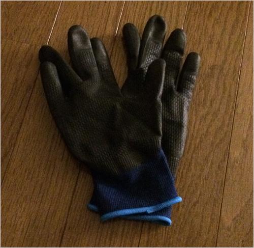 トレーニングに使えるゴム手袋