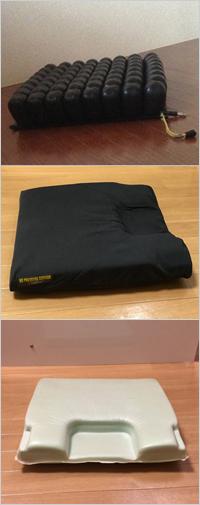 床ずれ防止、ロホクッション、春山クッション(ノープレッシャークッション)
