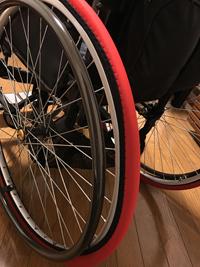 室内と外出先でも役立つ車椅子のタイヤカバーをつけた感想